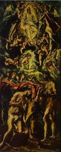 The baptism of christ 1590s xx galleria nazionale darte antica rome italy